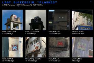 Source : capture d'écran Space-invaders.com